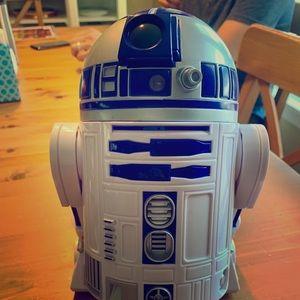 R2-D2 Talking Figure Robot - 10 1/2'' - Star Wars